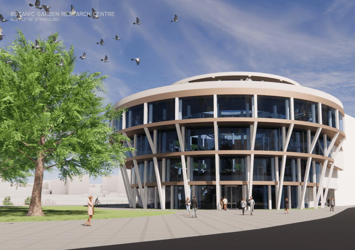 Botanic Garden and Research Centre Exterior