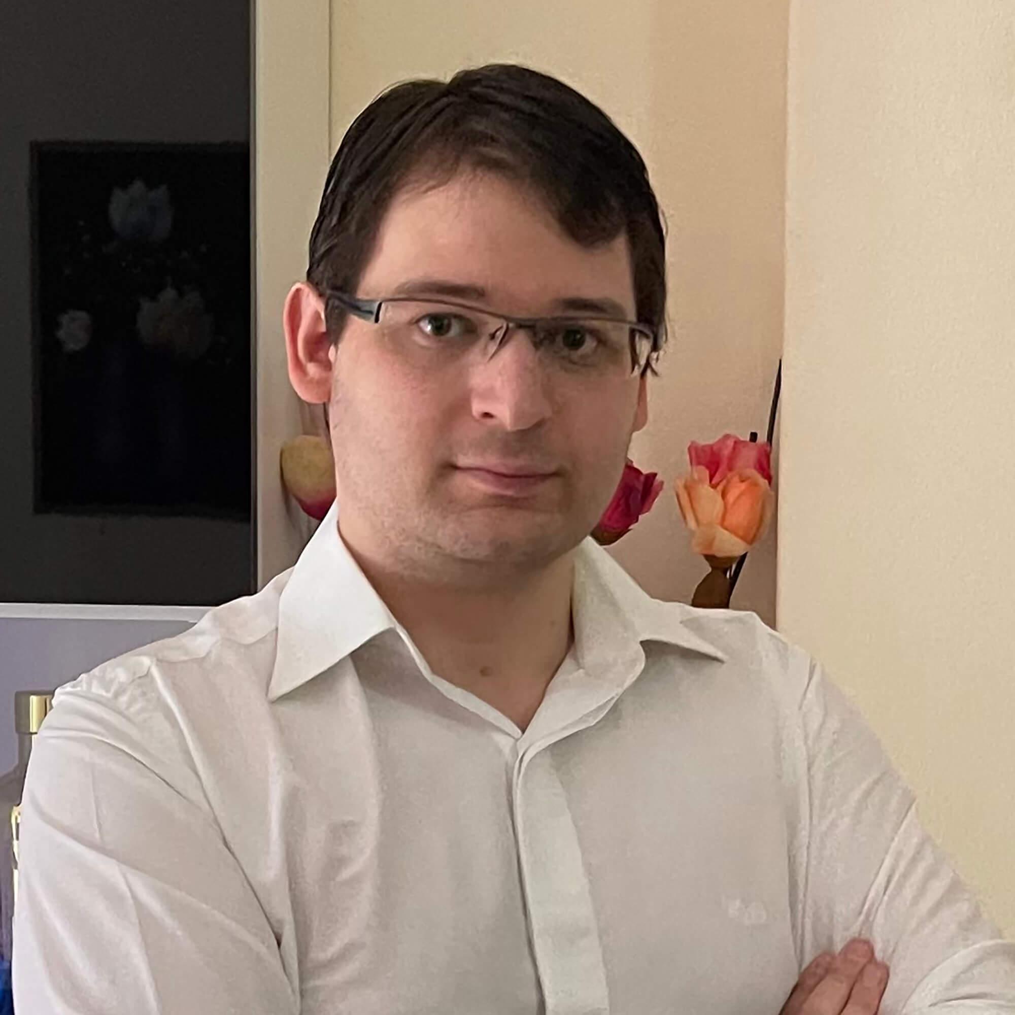 Headshot of Georgios Rousos