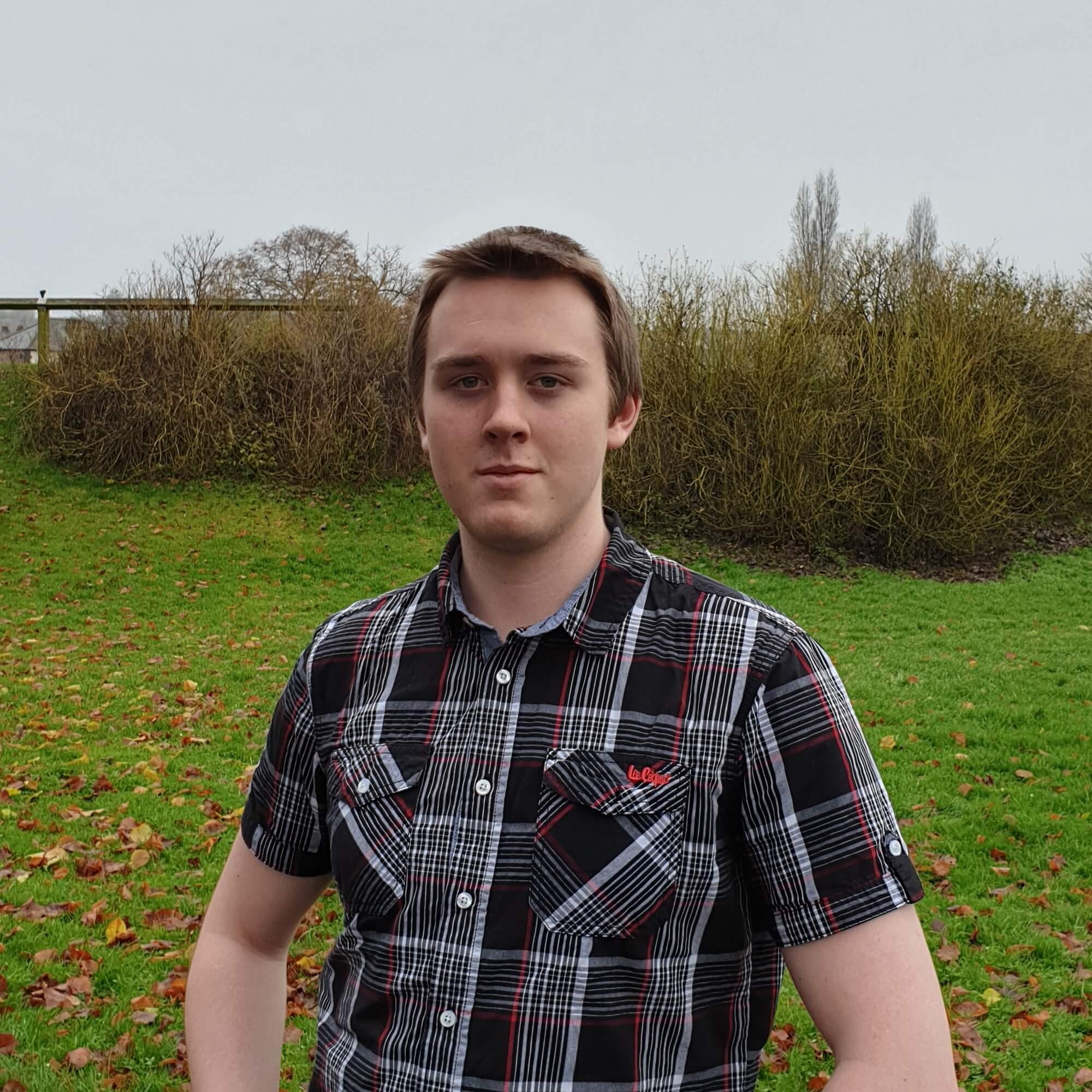 Student Adam Milner