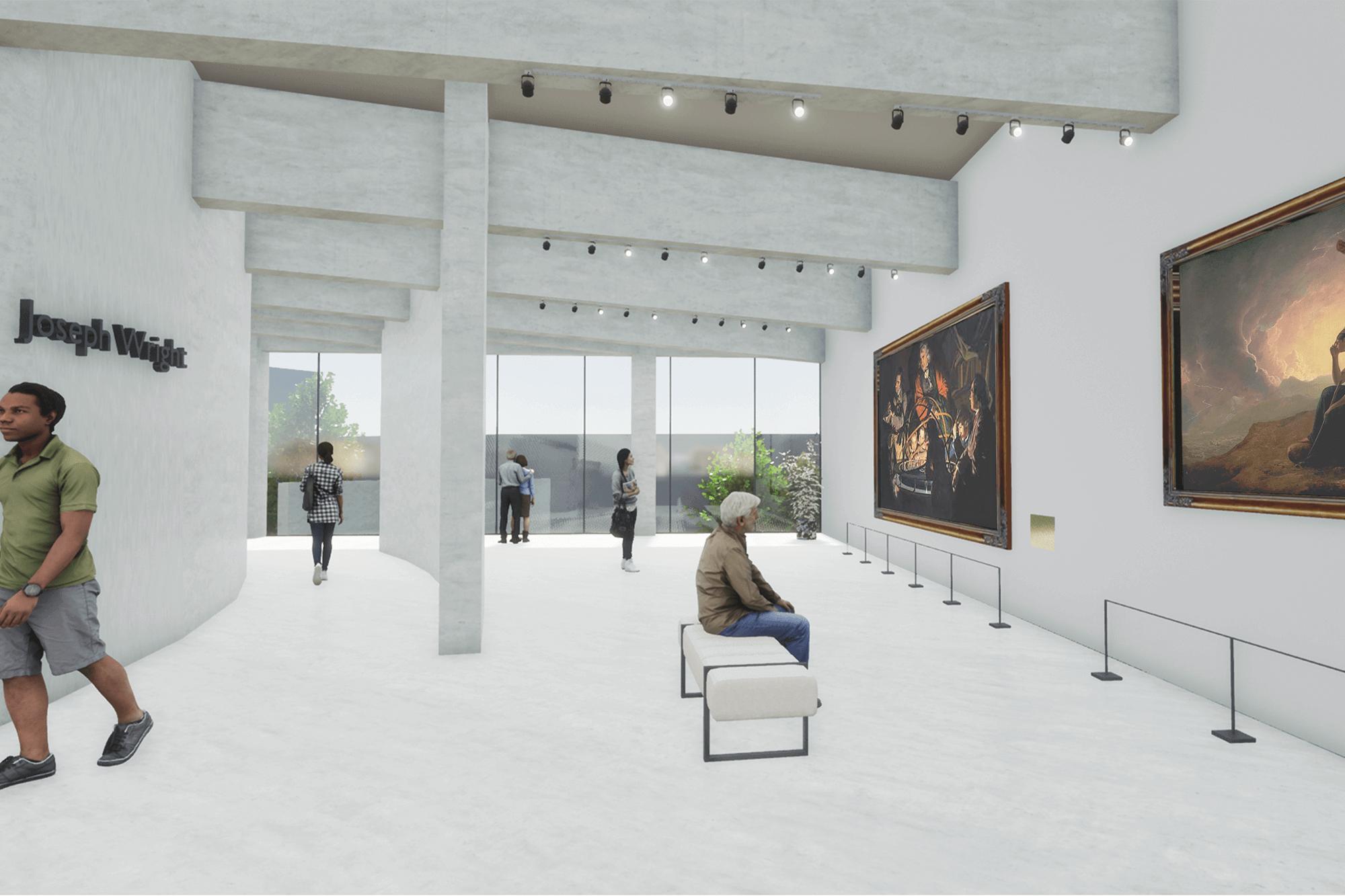 Francesca Wright Gallery + Studios Interior Plan