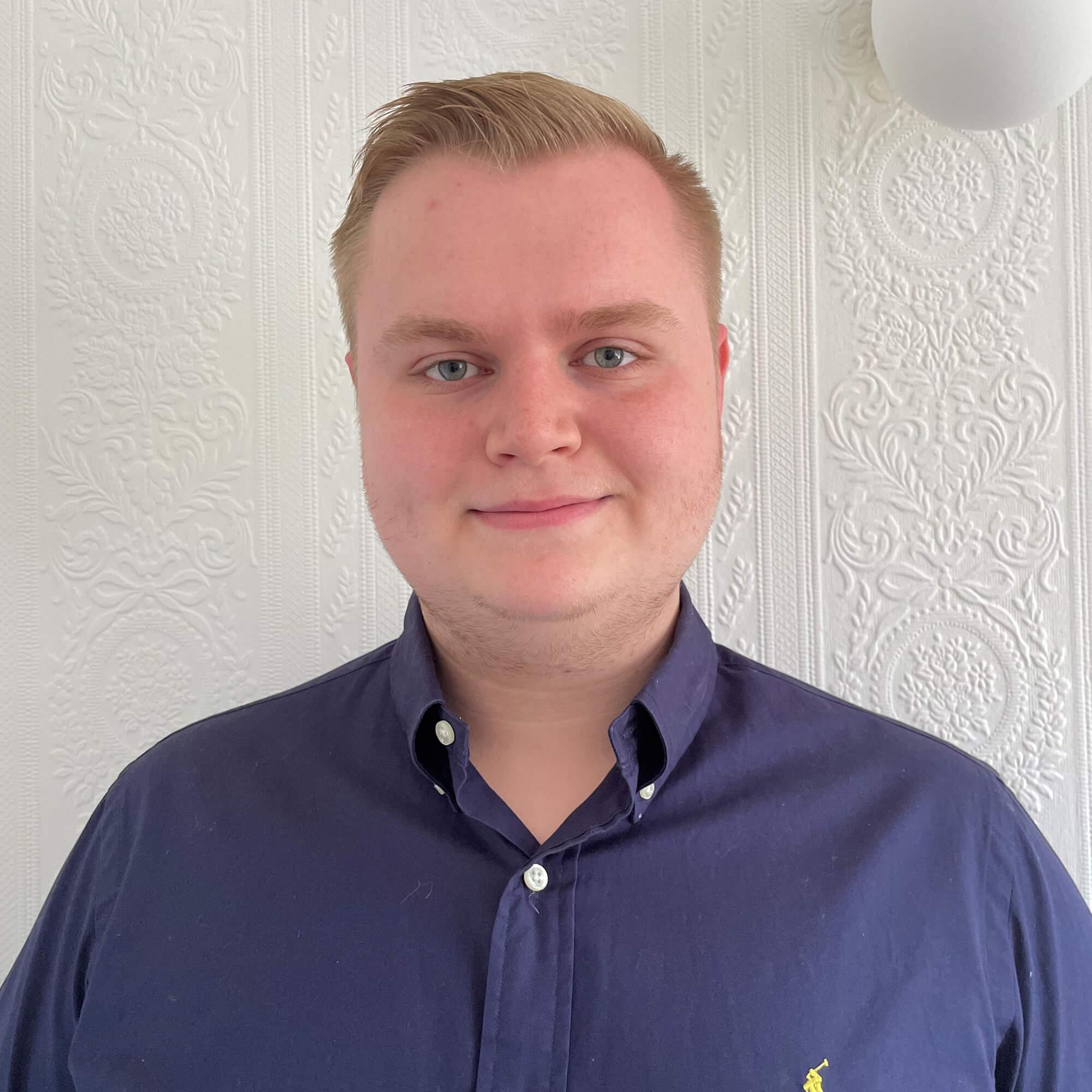 Headshot of Nicholas Bates