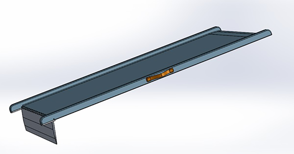 Salah Kassem Model Design - fully assembled