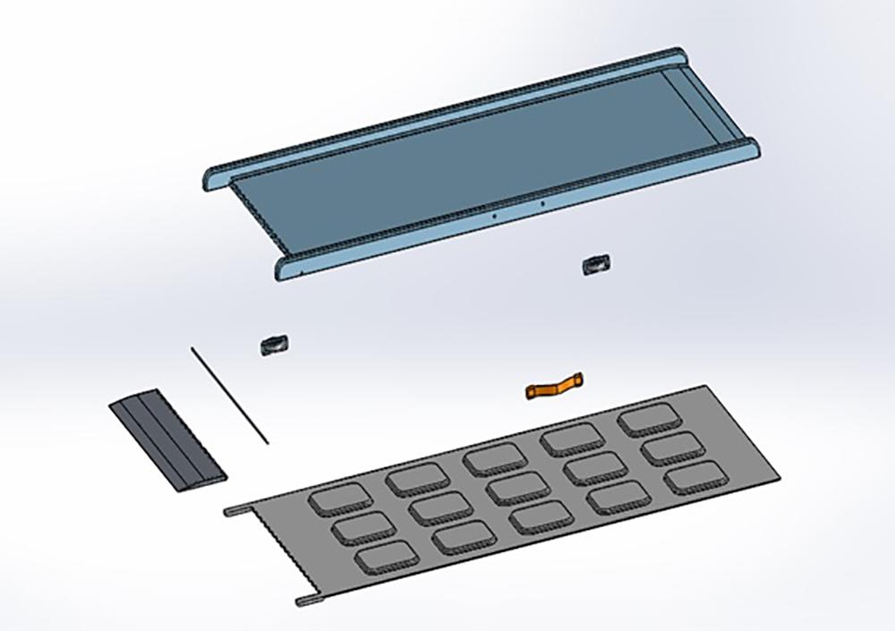 Salah Kassem Model Design - individual components