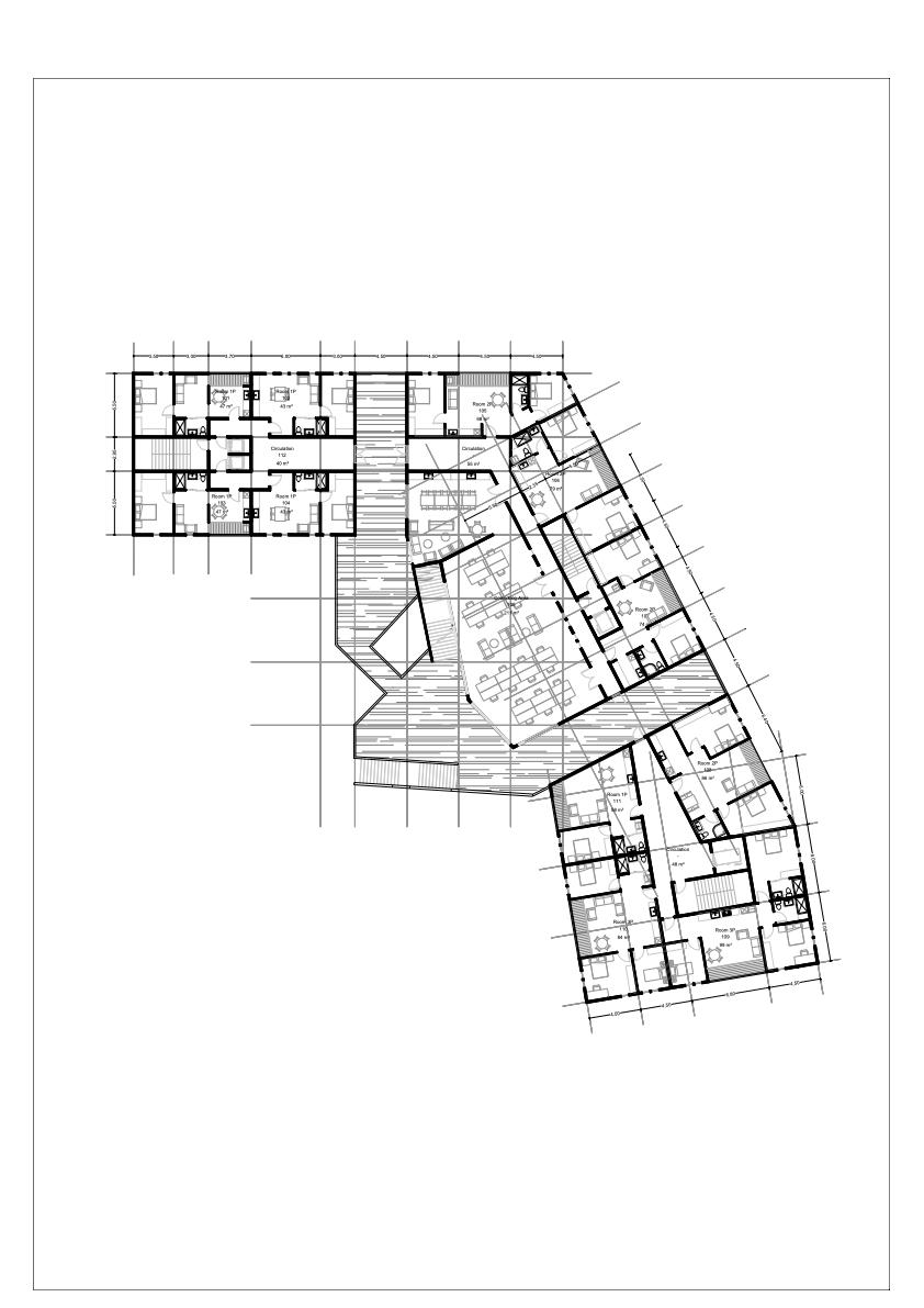 Ice Berg Second Floor Plan