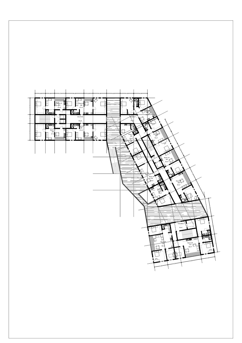 Ice Berg Third Floor Plan