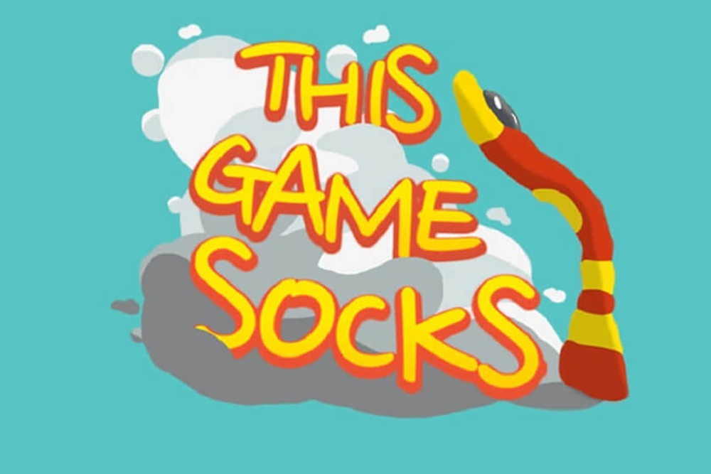 This Game Socks! Title Design