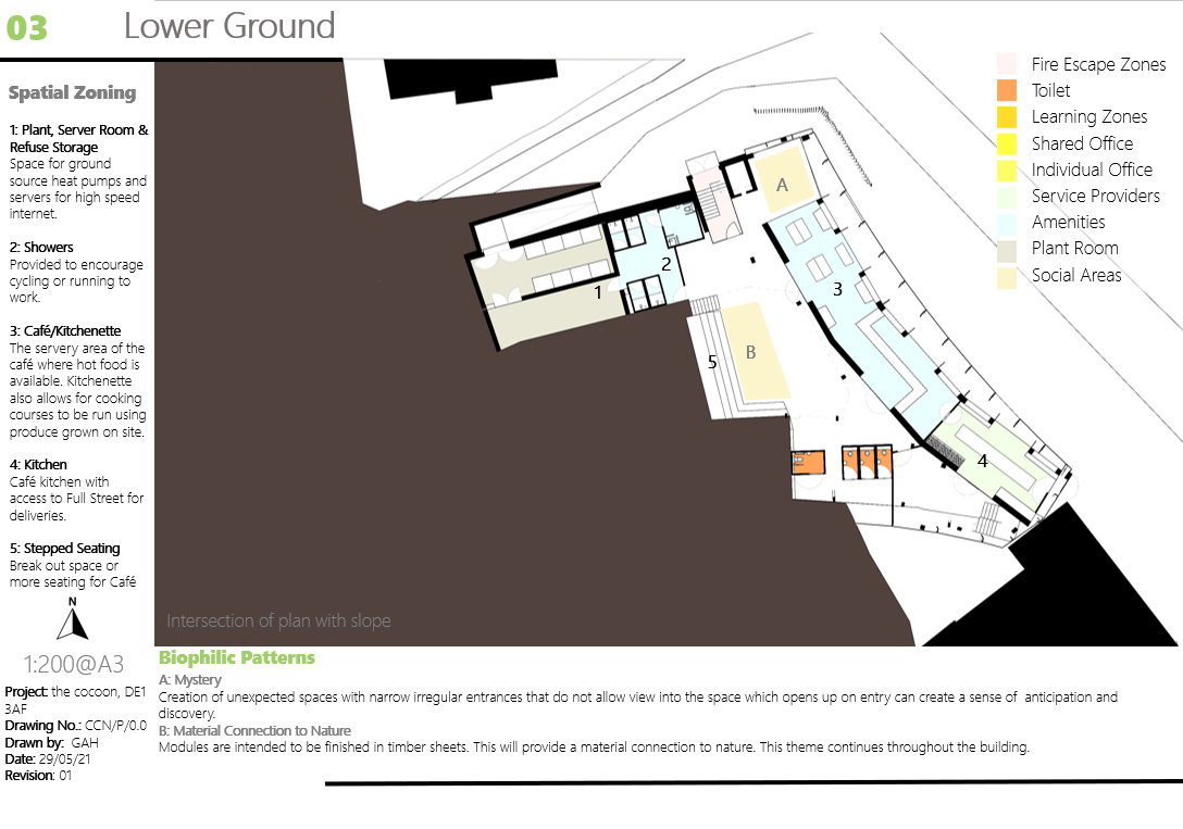 The Cocoon Lower Ground Floorplan
