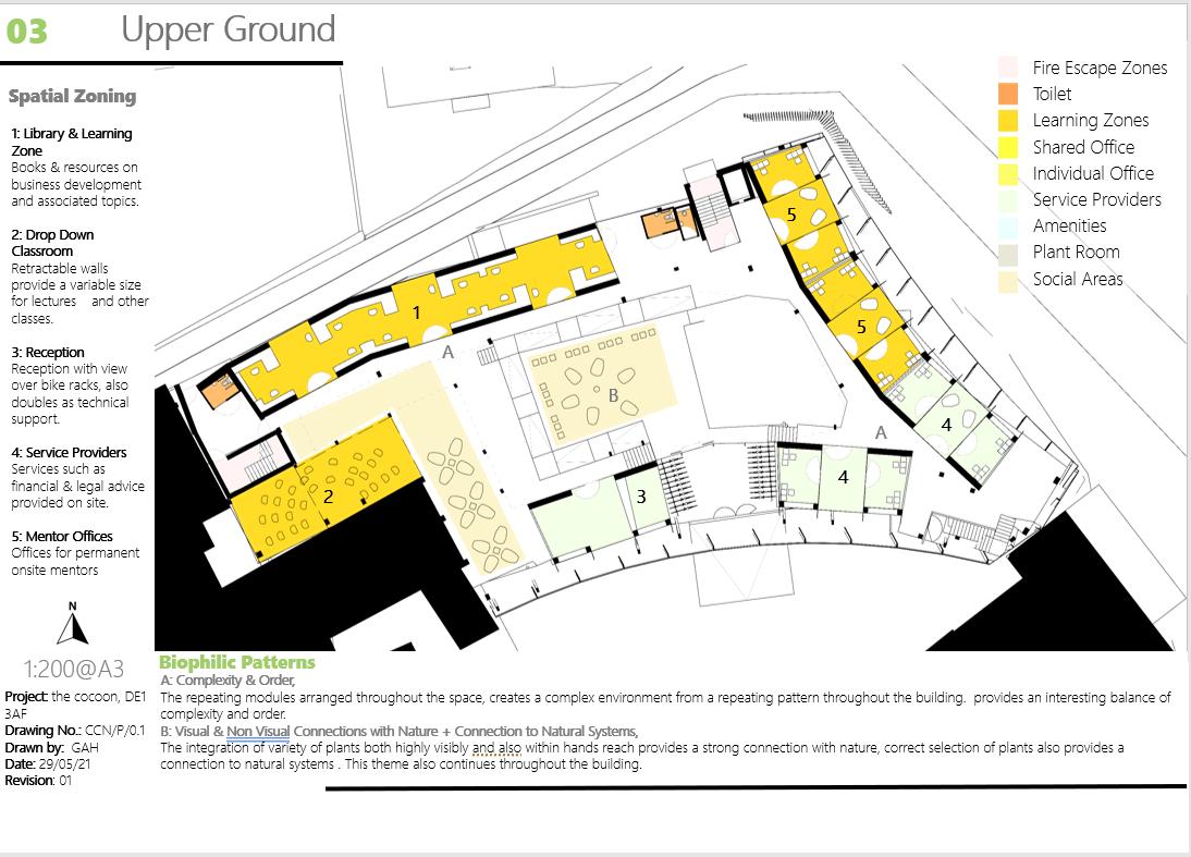 The Cocoon Upper Ground Floorplan