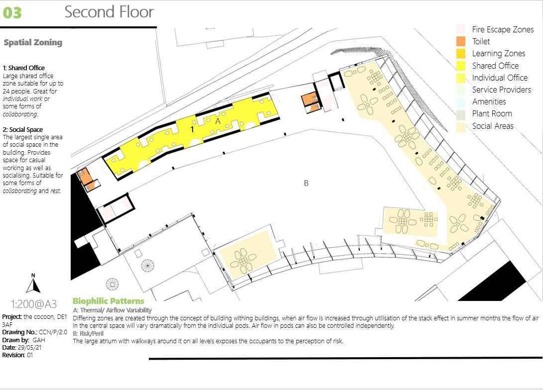 The Cocoon Second Floor Floorplan