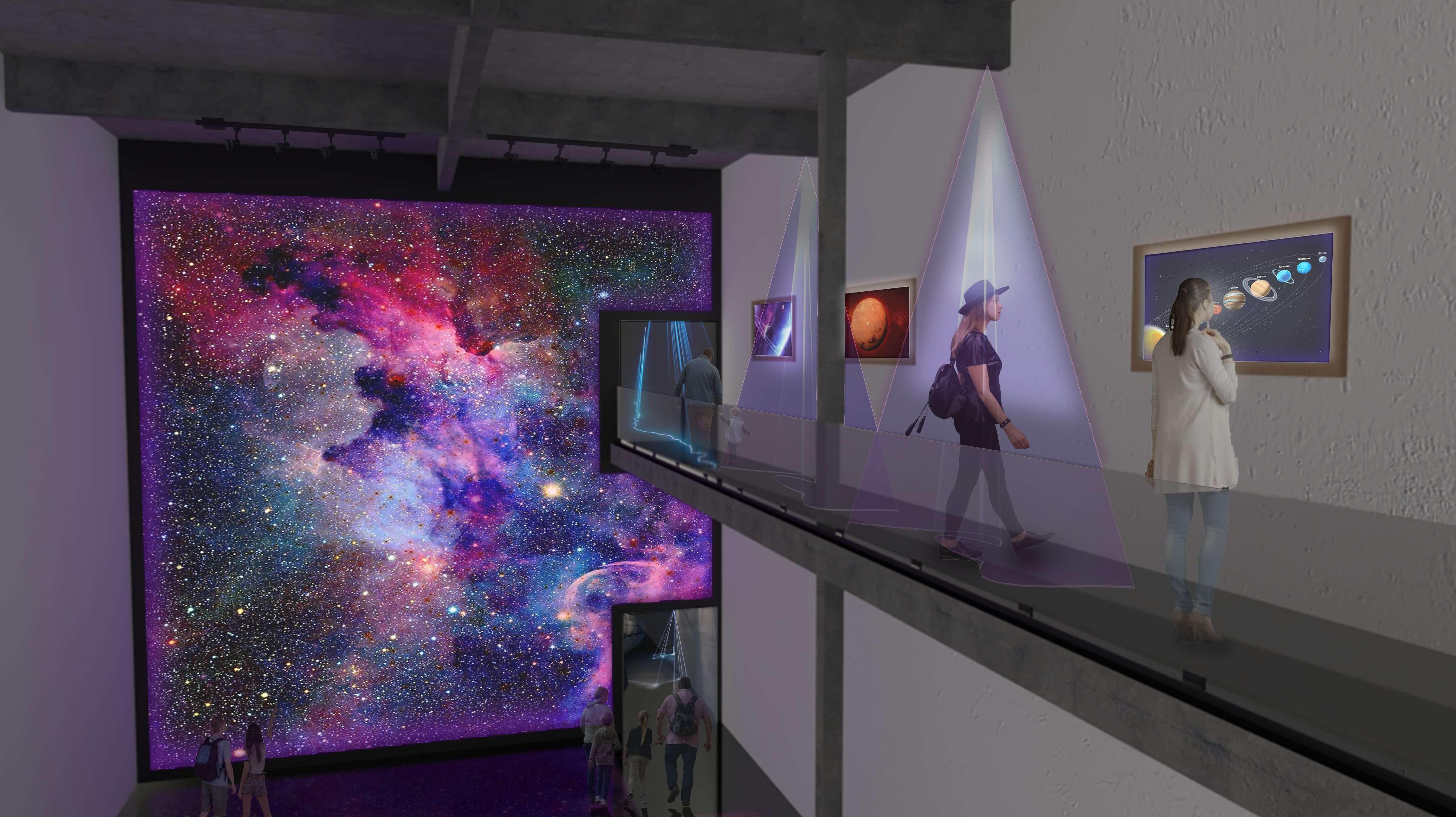 Digital Art Derby Interior Atrium Plan