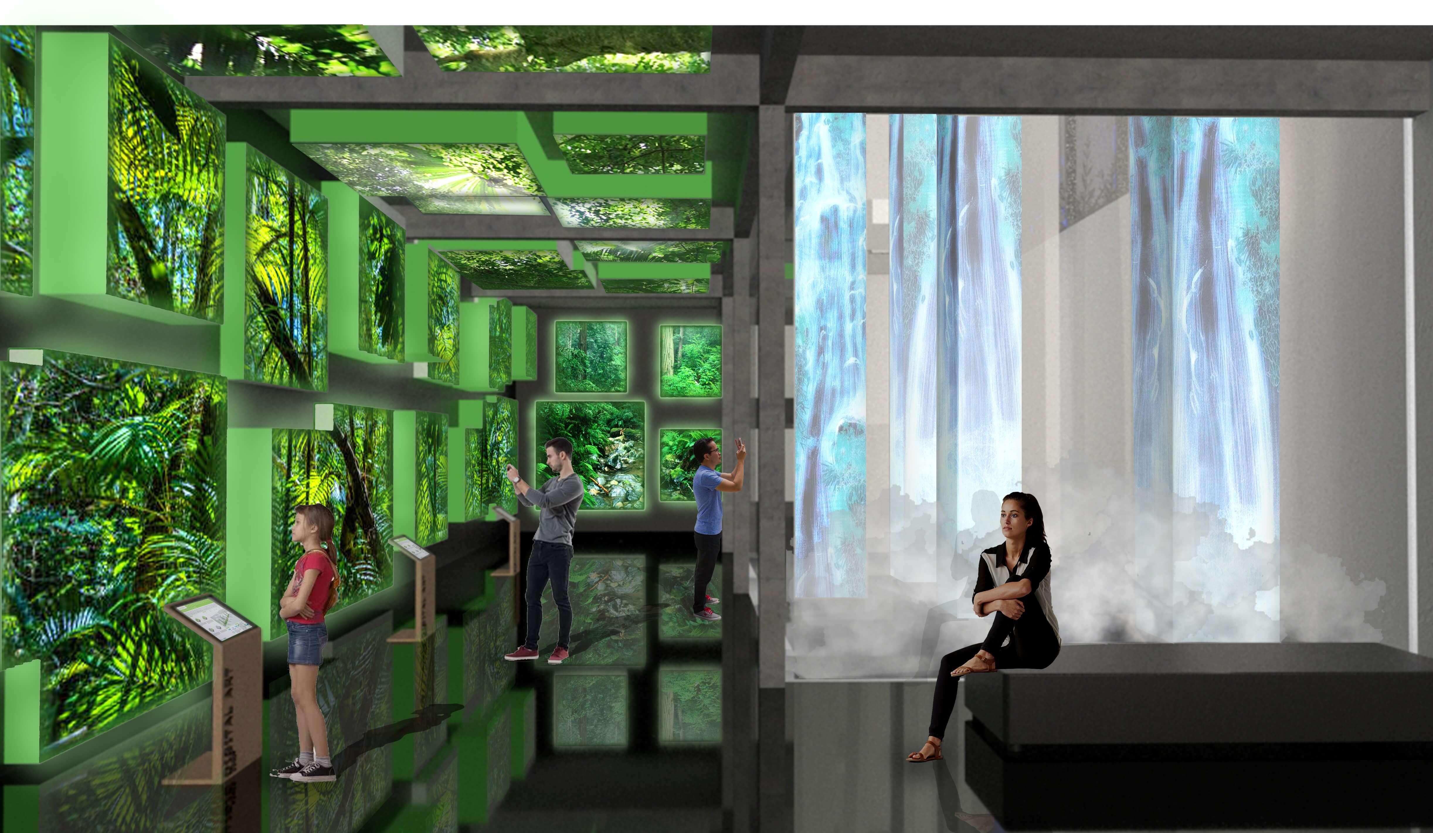Digital Art Derby Interior Basement Plan