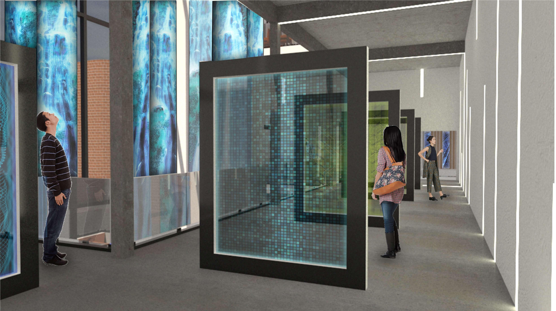 Digital Art Derby Interior First Floor Plan