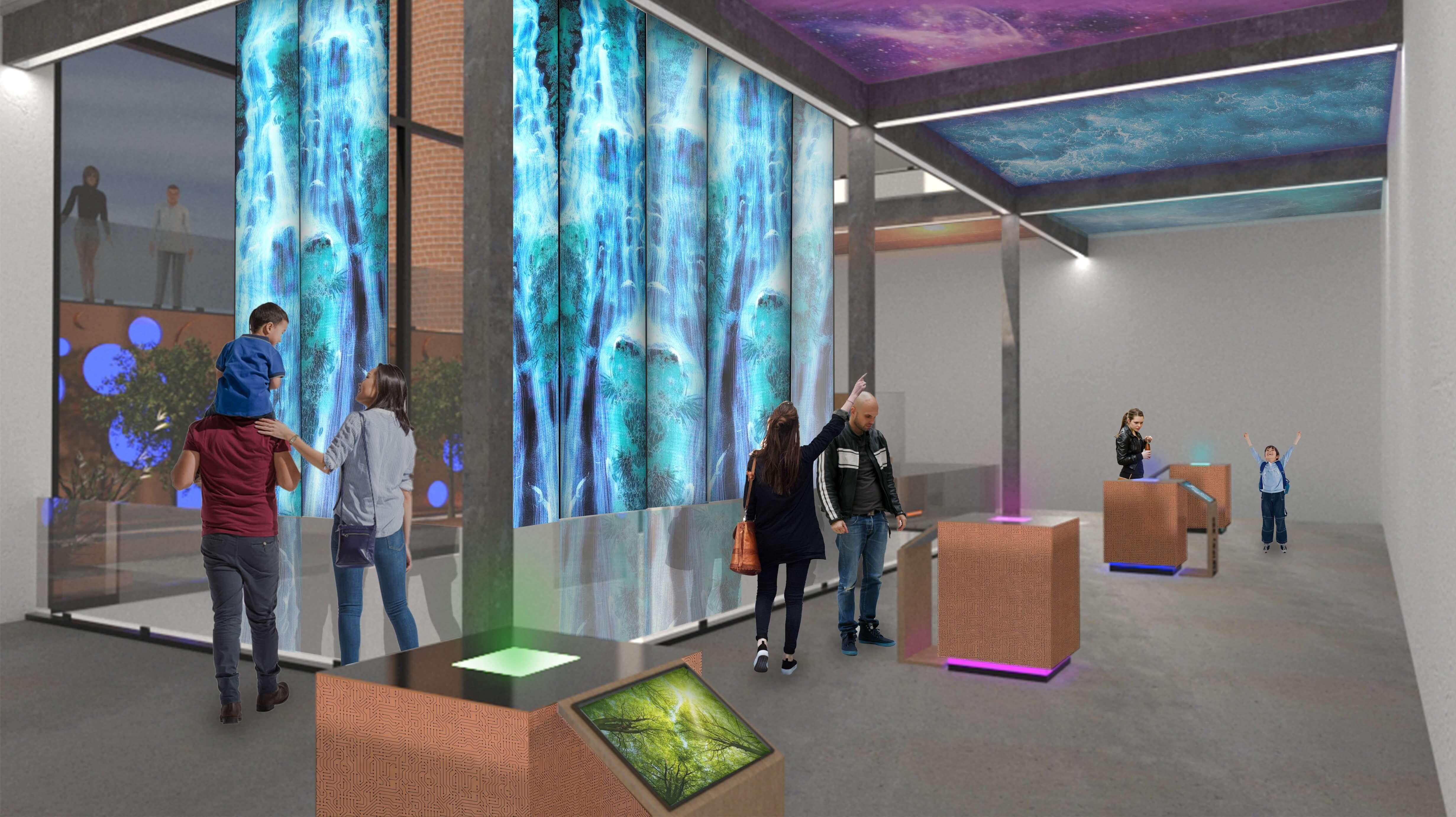 Digital Art Derby Interior Ground Floor Plan