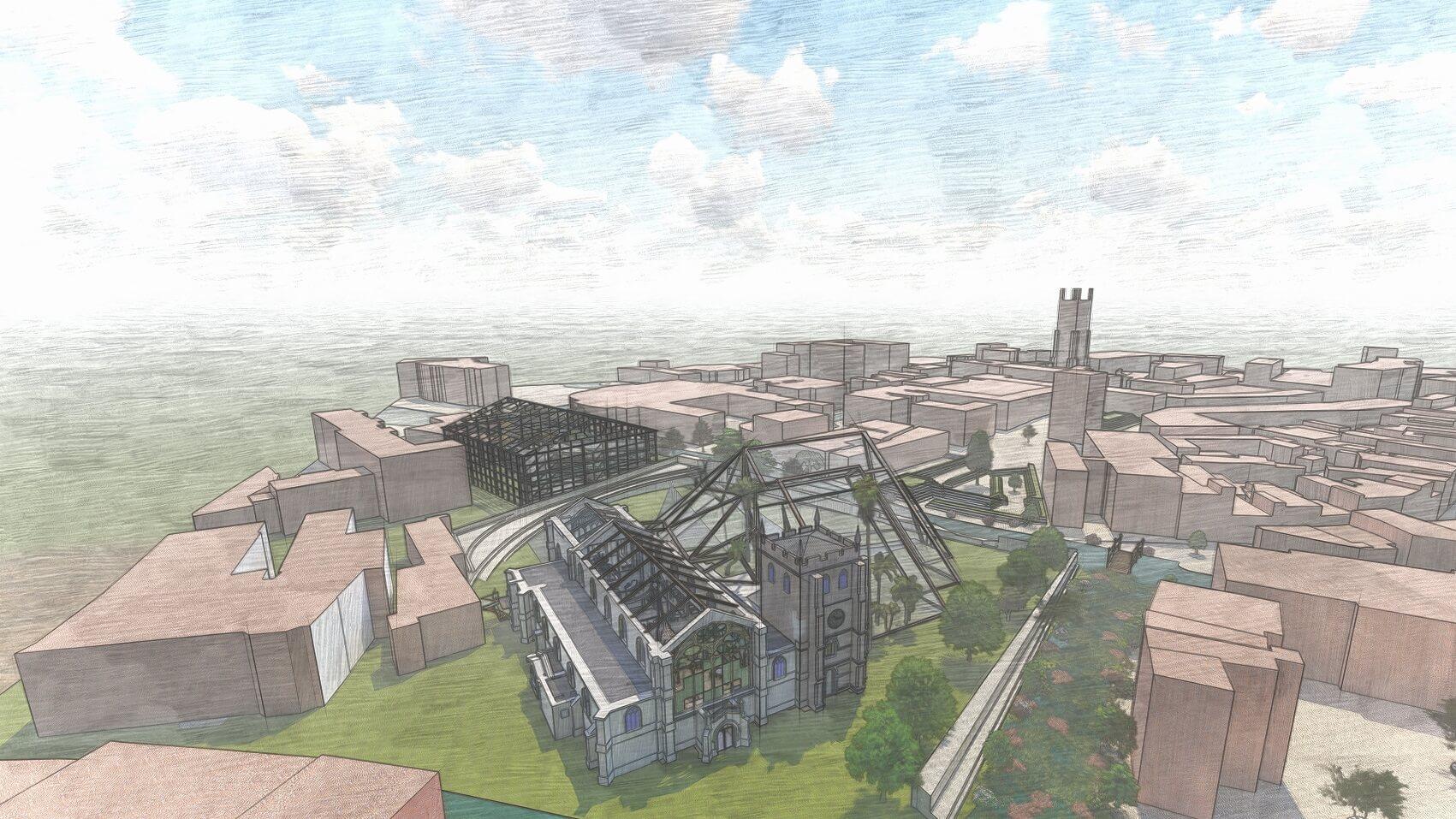 Saint Werburgh's & Bold Lane masterplan