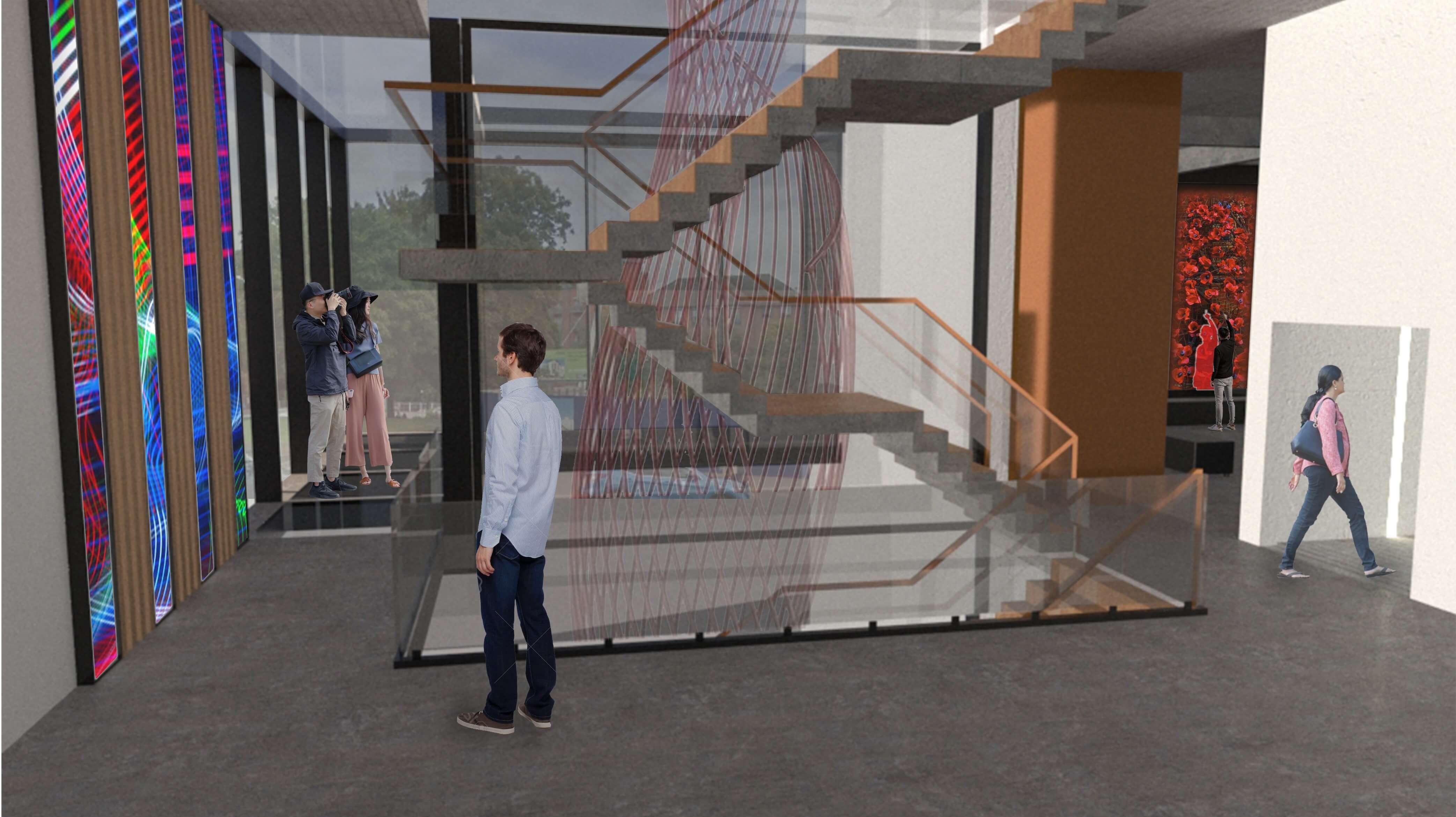 Digital Art Derby Interior Platform Plan