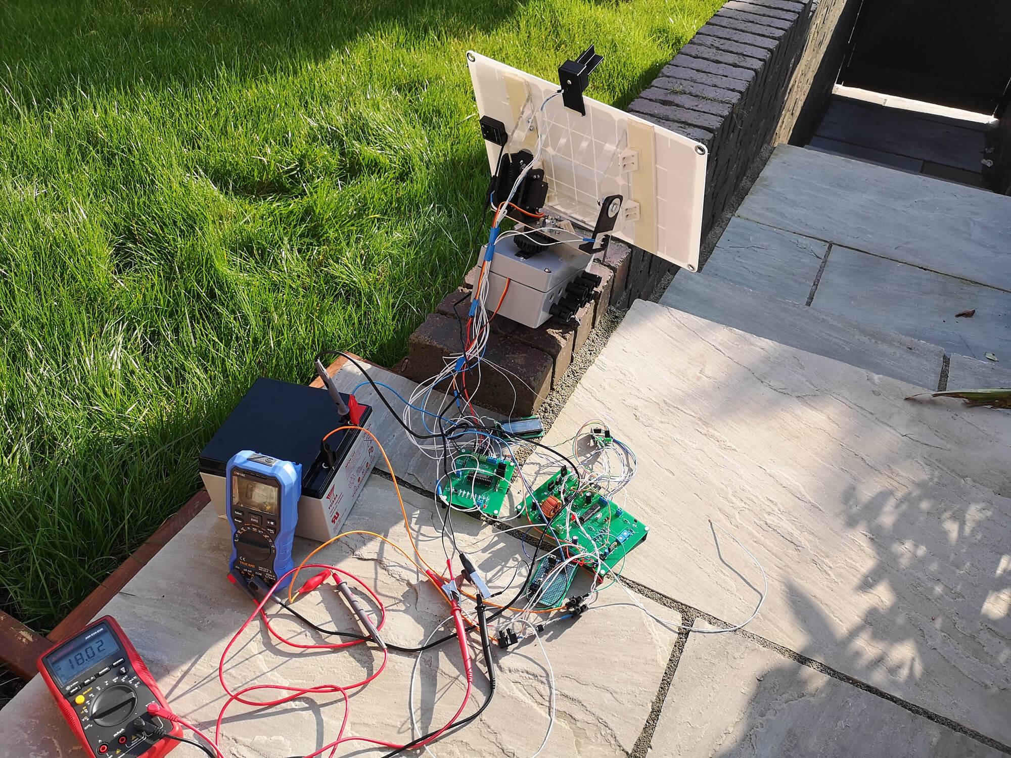 Prototype Testing in the garden