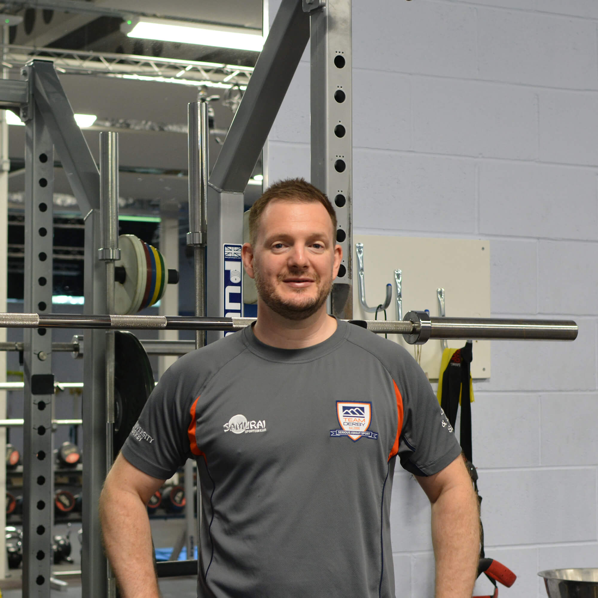 James Keenan in the University of Derby Performance Suite