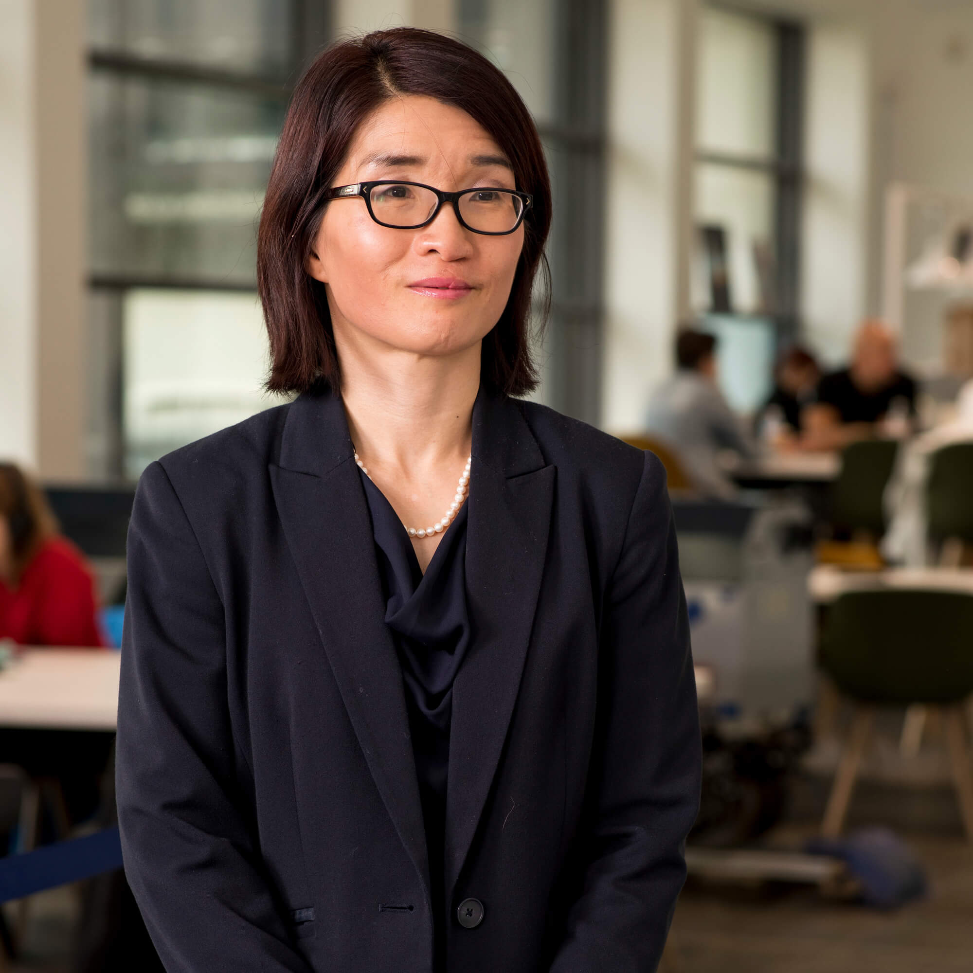 Joanna Poon at our Markeaton Street site