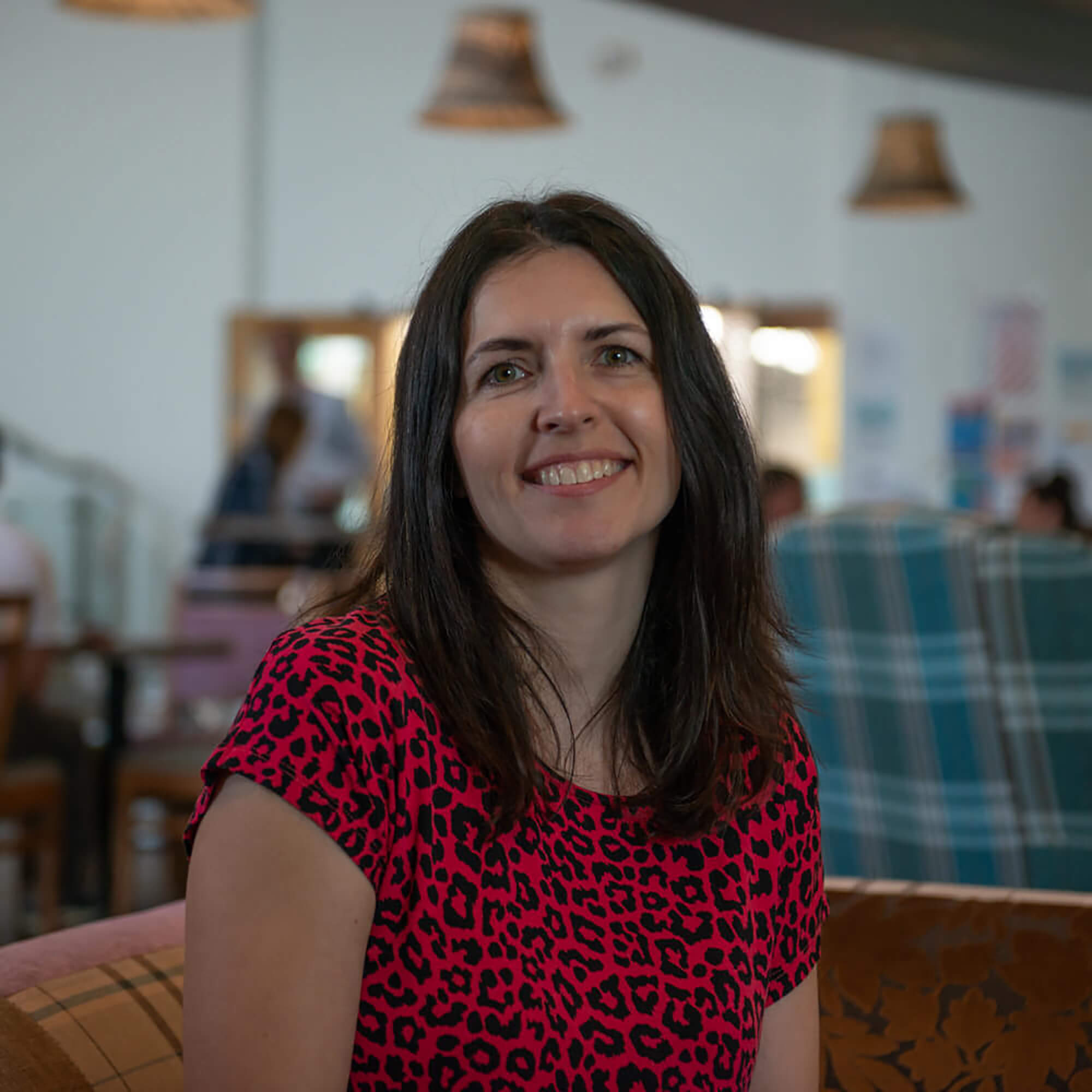 Rhona Woodward at Blends, University of Derby