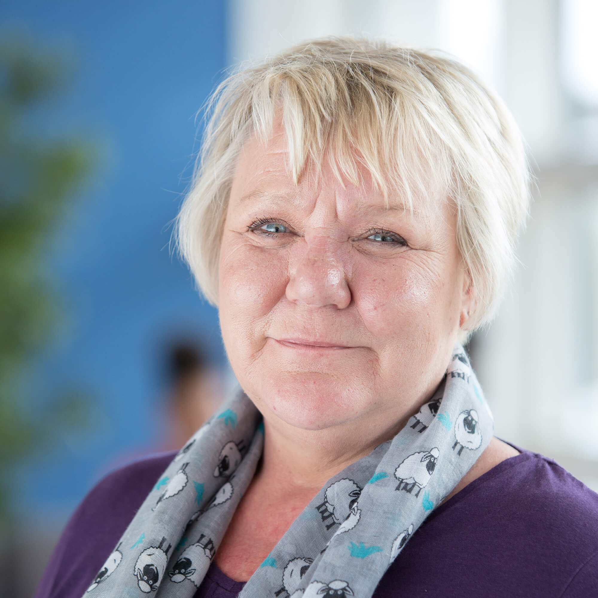 A headshot of Alison Kilduff - head of Mental Health Nursing