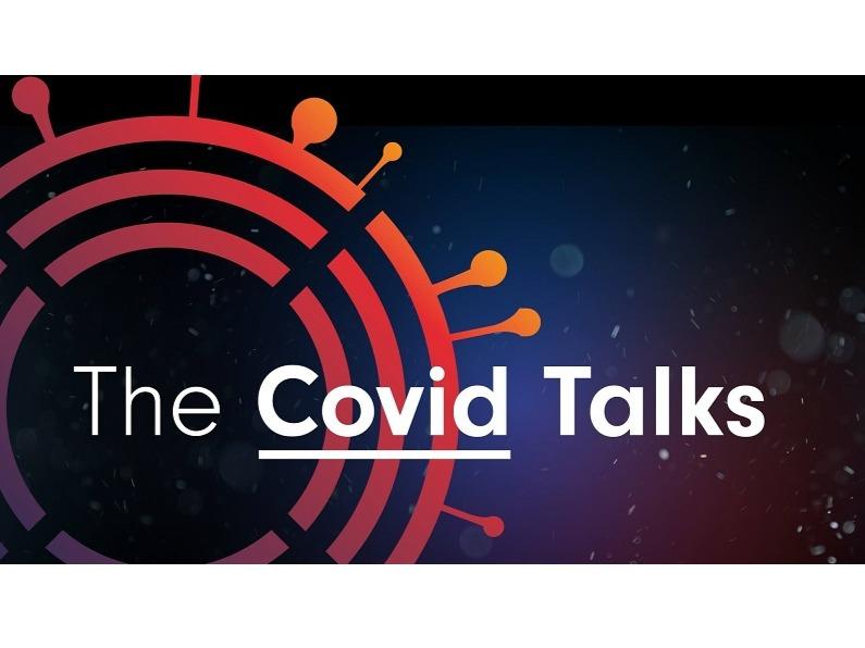 The Covid Talks logo